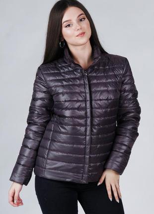 Женская весення стеганая куртка