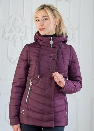 Весеняя куртка-жилет женская