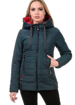 Женская весенняя куртка короткая
