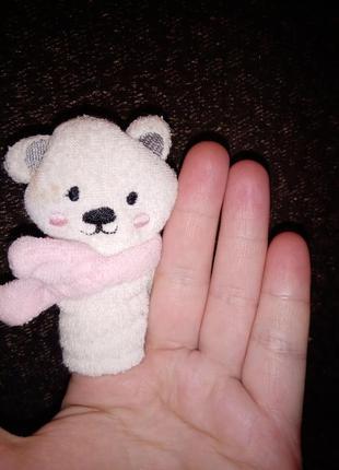Пальчиковая игрушка медведь