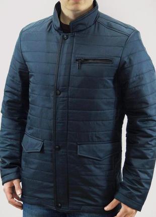 Мужская демисезонная куртка на нейлоновой подкладке