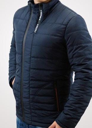 Осенняя мужская куртка на легком синтепоне topfason classic