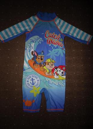 Плавательный солнцезащитный костюм -купальник щенячий патруль ...