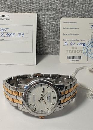 Мужские часы Tissot Ballade III t97.2.483.31 Automatic