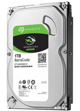 Жесткий диск Seagate BarraCuda HDD 1TB 7200rpm 64MB ST1000DM010