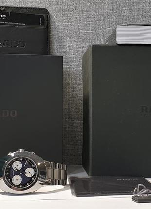 Мужские часы rado diastar scratchproof chronograph r12638173