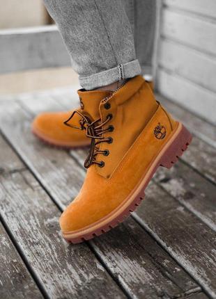 Ботинки military ginger wm