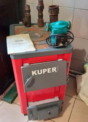 KUPER®-12П– котёл стальной твердотопливный мощностью 12 кВт