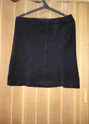 Вельветовая юбка Sisley