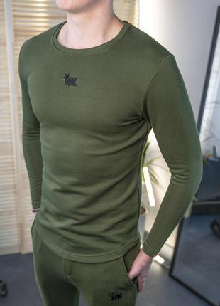 Мужская толстовка свитшот хаки/ украина