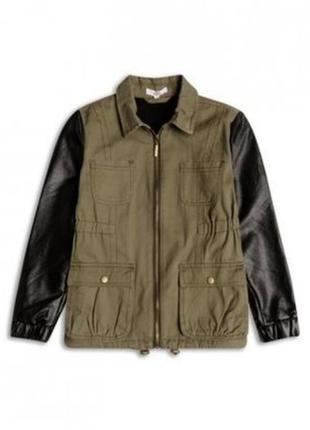 Демисезонная куртка парка ветровка для девочки sugar squad на ...