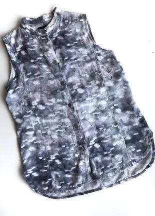 Легкая хлопковая безрукавка блуза bitte kai rand