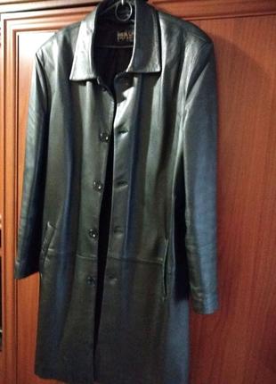 Куртка френч кожаная