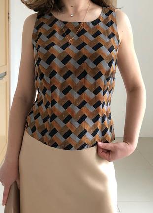 Топ блуза из нежнейшего индийского шелка