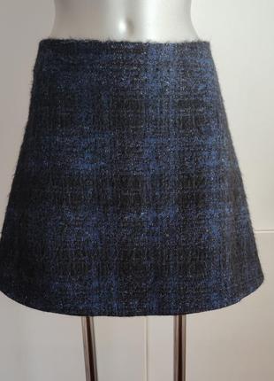 Стильная юбка love moschino из натурального материала