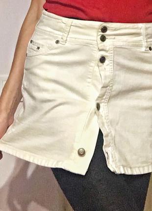 Юбка бренда tommy hilfiger джинсовая стильная новая