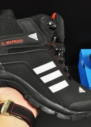Ботинки adidas climaproof арт 20671 (зимние, мужские, черные)