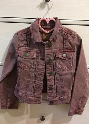 Джинсовая курточка nextк куртка для девочки 8 лет