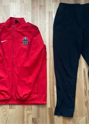 Спортивный костюм Nike Academy 18 Tracksuit 893709-657 цвет: крас