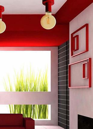 Настенно потолочный светильник бра лофт метал на 1-лампу e27