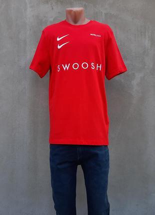 Футболка nike sportswear swoosh оригинал! cv5892-657