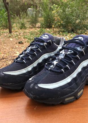 Кроссовки Nike Air Max 95.97 синие,рефлектив р.44 original