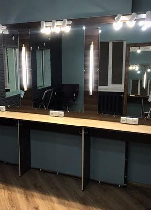 Конструкция, стол для визажистов, бровистов, парикмахеров