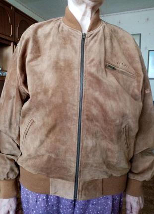 Новая брендовая Куртка AMI из Нубука Австрия Dadc Austria