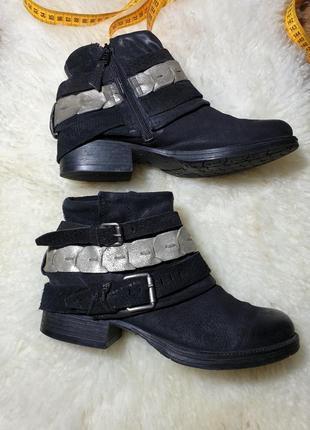 Кожаные ботинки в стиле as 98 airstep