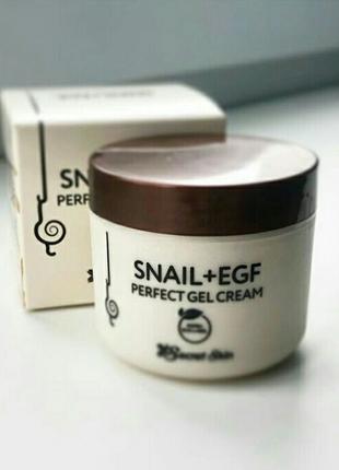 Крем для лица Secret Skin Snail + EGF Perfect Gel Cream