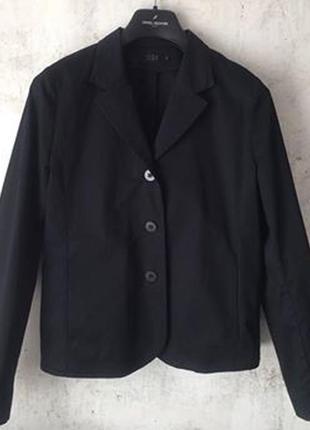 Минималистичный хлопковый пиджак, cos, оверсайз, летний