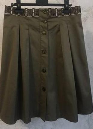 Дизайнерская юбка на пуговицах etro оригинал
