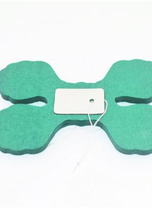 Бумажная гирлянда зеленого цвета - длина 3,6м