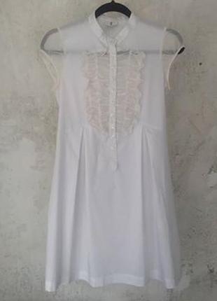 Белое платье patrizia pepe, молодежная линия