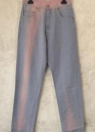 Винтажные джинсы pepe jeans, высокая посадка, эксклюзив
