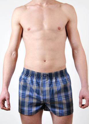 Мужские трусы боксеры боксерки c+3 польша, шорты семейки