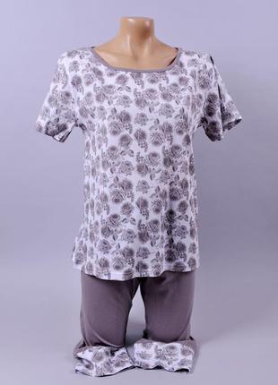 Жіноча піжама - розмір л\ останній розмір \ знижка