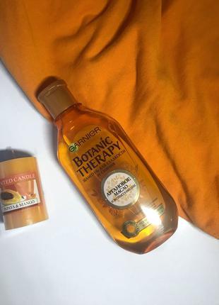 Шампунь Garnier Botanic Therapy Арганова Олія і Екстракт Камелії,