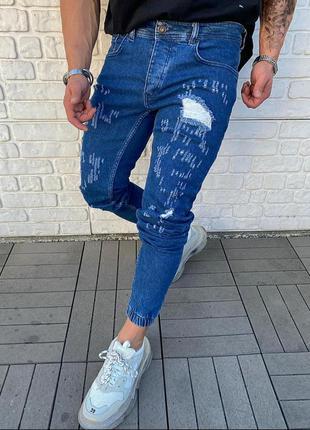 Топовые мужские джинсы джоггеры
