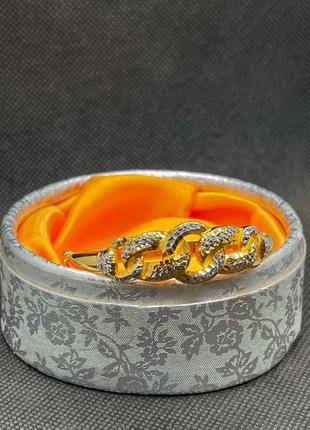 Золотой женский браслет 22 карата