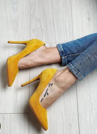 Туфли туфли лодочки на каблуке