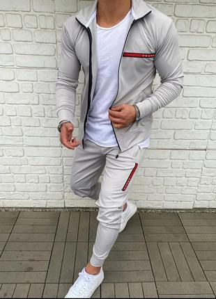 Мужской спортивный костюм prada