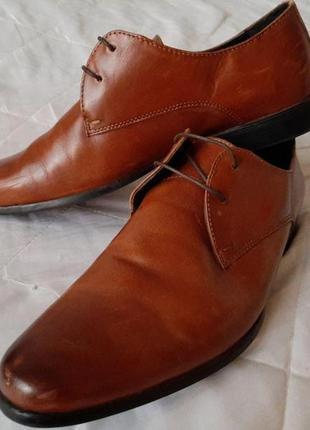 Кожаные мужские туфли river island