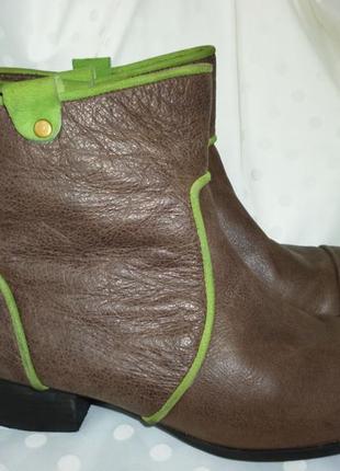 Стильные  ботинки весна-осень    натуральная кожа