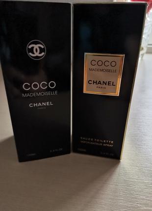 Chanel Coco Mademoiselle gold Box 100ml