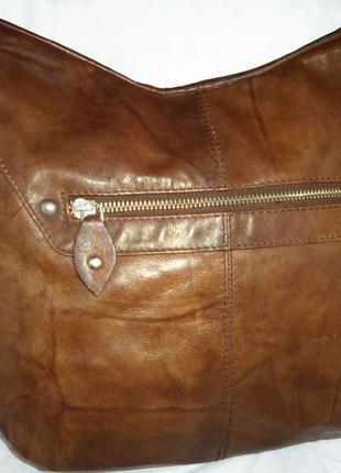 Стильная  большая сумка натуральная  мраморная кожа hamlet - h...
