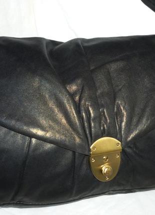 Стильная сумка натуральная кожа oasis