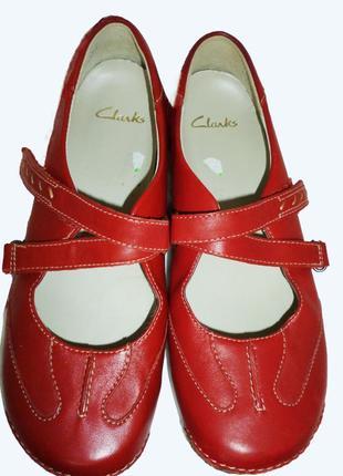 Стильные туфли- мокасины натуральная кожа clarks