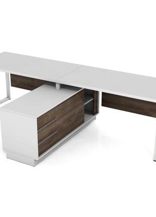 Офісні столи з тумбою (3 шт) 6 000 за одиницю
