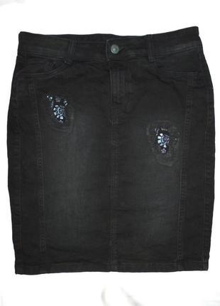 Стильная  джинсовая юбка yessica